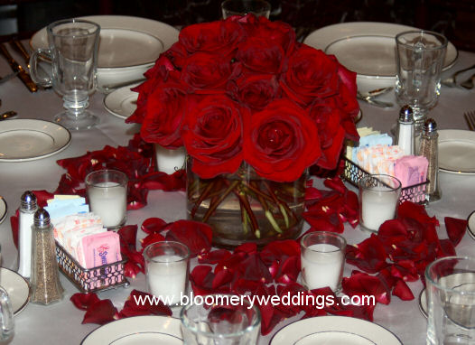 gothic wedding centerpieces red and black red and black wedding centerpieces