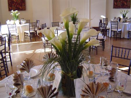 calla lily centerpieces for weddings