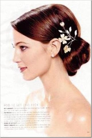 Romantic and Dramatic Updo Vintage Hair Style