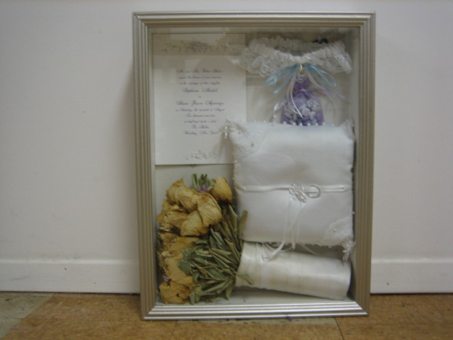 wedding shadow box ideas 3