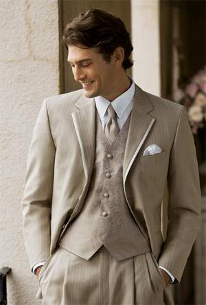 Where can I find a grey or tan tux I really liked this one
