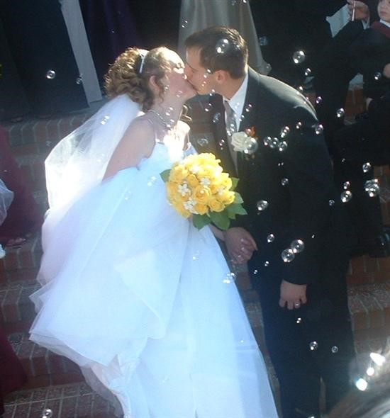 Another favorite pic!!!  Bring on the wedding bubbles :-)