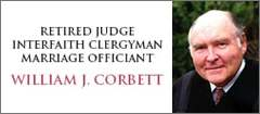 Judge William J. Corbett - officiants