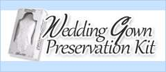 Wedding Gown Preservation Kit - bridal gown preservation