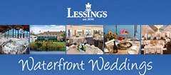 Lessing's Waterfront Weddings - reception location